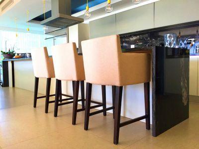 Kitchen Breakfast Bar-Ocean Front Corner Penthouse In Peninsula Nuevo Vallarta