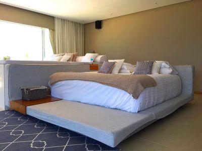 Master Bedroom-Ocean Front Corner Penthouse In Peninsula Nuevo Vallarta