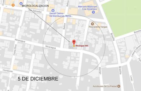 Macro-localización Edificio Comercial Nicaragua- Puerto-Vallarta