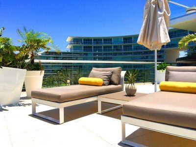 Sun Chairs-Ocean Front Corner Penthouse In Peninsula Nuevo Vallarta