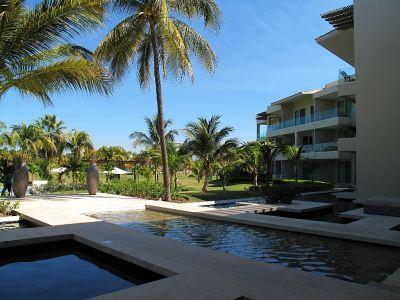 Alberca  Desarrollo Península Golf Condominio en venta, El Tigre, Nuevo Vallarta, Nayarit, México