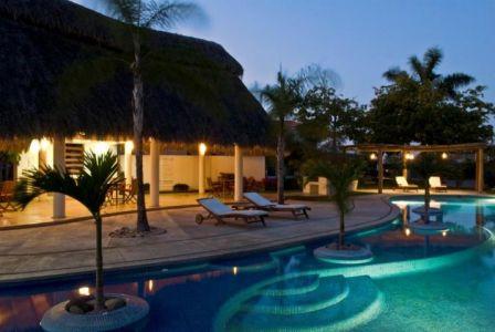 Alberca Conjunto Residencial Real Nuevo Vallarta Nayarit México