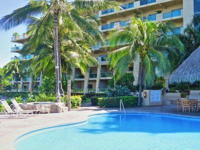 Alberca Oceano Vista Residences Condominio Nuevo Vallarta