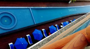 Alberca vista terraza Condominio Deck 12 en Puerto Vallarta