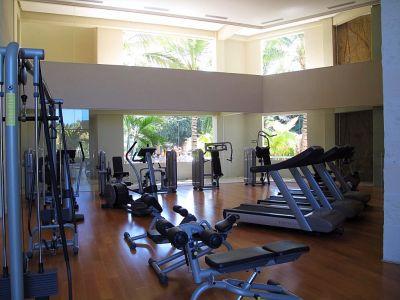 Aparatos gimnasio Desarrollo Península Golf Condominio en venta, El Tigre, Nuevo Vallarta, Nayarit, México