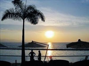 Atardecer Condominio Península Puerto Vallarta