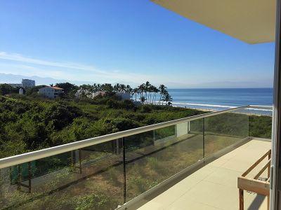 Balcón con vista al mar Condominio en Venta Península Nuevo Vallarta Nayarit México Desarrollo Habitacional