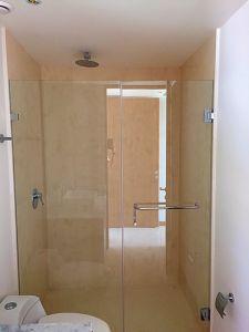 Baño con regadera penthouse en venta Condominio Península en Nuevo Vallarta Nayarit
