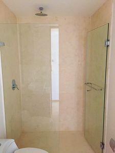 Baño regadera penthouse en venta Condominio Península en Nuevo Vallarta Nayarit