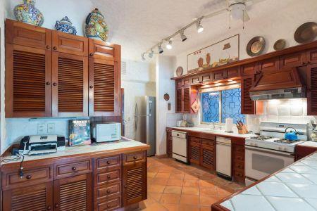 Cocina Casa Punta Iguana en Marina Vallarta Puerto Vallarta