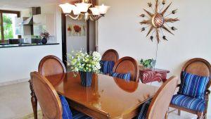 Kitchen and dining room Condominium Punta Esmeralda La Cruz de Huanacaxtle Riviera Nayarit