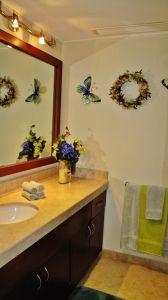 Decoración baño Condominio Punta Esmeralda La Cruz de Huanacaxtle Riviera Nayarit
