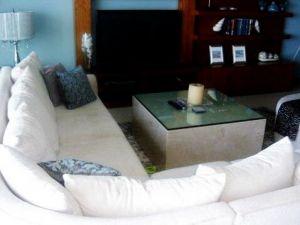 Decoración sala Condominio Península Puerto Vallarta