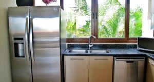 Fregadero cocina Condominio Punta Esmeralda La Cruz de Huanacaxtle Riviera Nayarit