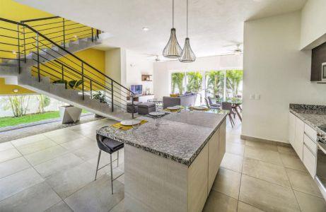 Interior casa Conjunto Residencial Real Nuevo Vallarta Nayarit México