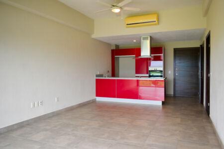 Cocina Departamento 3.14 Living Nuevo Vallarta
