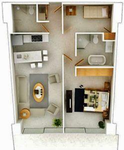 Plano Condominio Peninsula en Nuevo Vallarta Nayarit