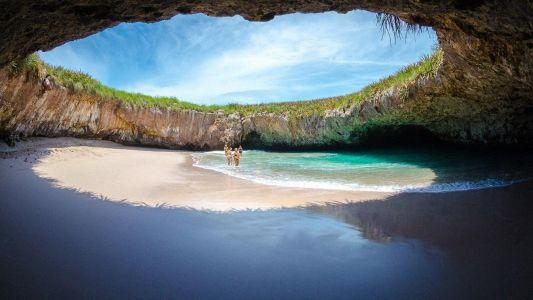 Playa del amor Riviera Nayarit México
