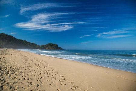 Playas y mar Punta Paraíso San Francisco Riviera Nayarit México