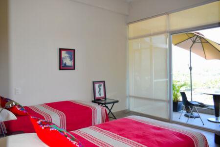 Recámara con balcón Penthouse Nuevo Vallarta en Venta 3.14 Living