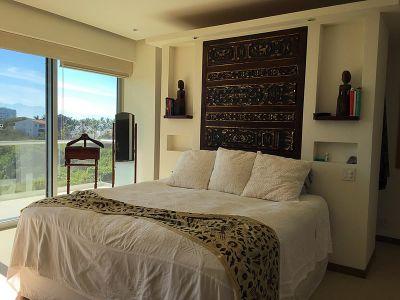 Recámara con terraza Condominio en Venta Península Nuevo Vallarta Nayarit México Desarrollo Habitacional