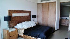Recámara principal Condominio Peninsula en Nuevo Vallarta Nayarit