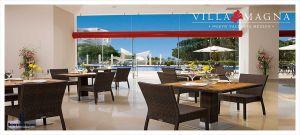 Restaurante con vista a la alberca Condominio Villa Magna en Nuevo Vallarta