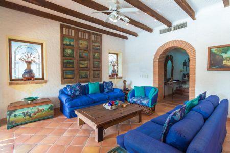Sala Casa Punta Iguana en Marina Vallarta Puerto Vallarta