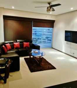 Sala Condominio Peninsula en Nuevo Vallarta Nayarit