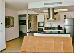 Sala y comedor Condominio Peninsula en Nuevo Vallarta Nayarit