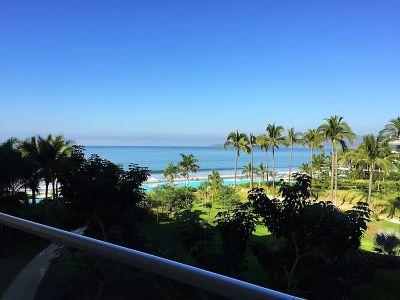 Terraza con vista al oceano Condominio en Venta Península Nuevo Vallarta Nayarit México Desarrollo Habitacional
