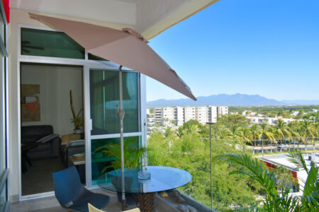 Penthouse Nuevo Vallarta en Venta 3.14 Living