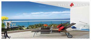 Terraza con vista al mar Condominio Villa Magna en Nuevo Vallarta