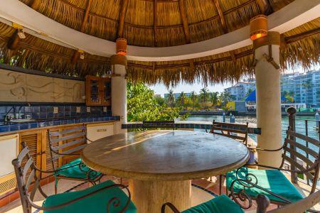 Terraza Vista Casa Punta Iguana en Marina Vallarta Puerto Vallarta