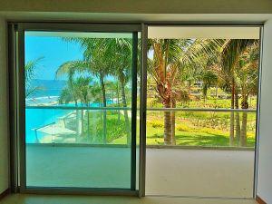 Ventanas terraza penthouse en venta Condominio Península en Nuevo Vallarta Nayarit