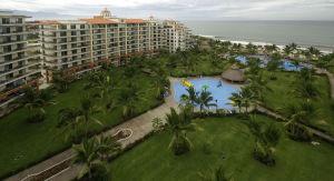 Vista aérea Condominio Playa Royale en Nuevo Vallarta