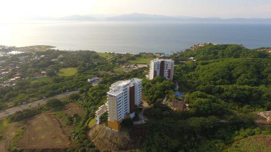 Vista aérea torres Alamar Vallarta