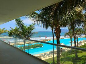 Vista al mar terraza penthouse en venta Condominio Península en Nuevo Vallarta Nayarit