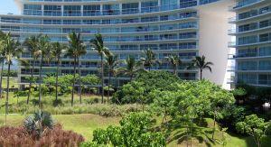 Vista balcón Condominio Península en Nuevo Vallarta