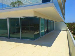 Vista balcón penthouse en venta Condominio Península en Nuevo Vallarta Nayarit