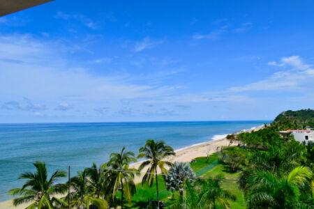 Vista al mar Penthouse Frente a la playa San Pancho Nayarit