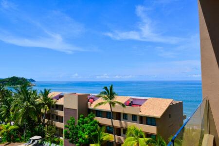 Vista Penthouse Frente a la playa San Pancho Nayarit
