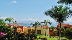 Vista desde terraza Condominio Punta Esmeralda La Cruz de Huanacaxtle Riviera Nayarit