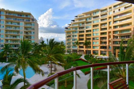 Vista terraza Delcanto Condominio Nuevo Vallarta