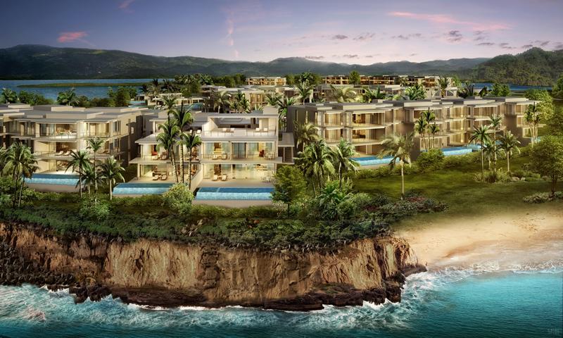 Villas frente al mar Desarrollo Susurros del Corazón Punta de Mita Nayarit México
