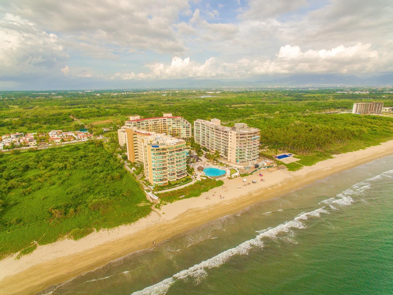 Vista aérea Condominio Delcanto Nuevo Vallarta