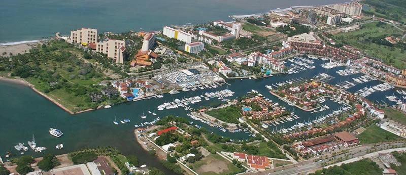 Vista aérea Marina Vallarta