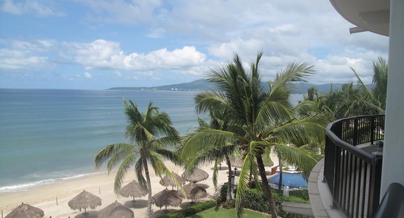 Vista al mar en terraza Vista al mar Condominio Playa Vista Residences en Nuevo Vallarta