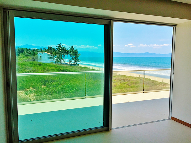 Vista al mar recámara penthouse en venta Condominio Península en Nuevo Vallarta Nayarit