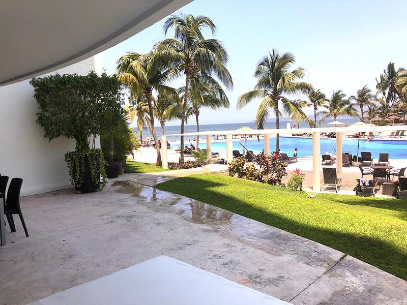 Vista al mar Residencial Villa Magna Nuevo Vallarta Departamento en Venta